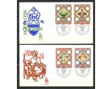 1973 - VATICANO - DIOCESI DI PRAGA - 2 BUSTE FDC VENEZIA - LOTTO/27571A