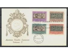 1962 - VATICANO - APERTURA CONCILIO ECUMENICO - LOTTO/27700