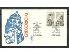 1977 - VATICANO - RITORNO DI GREGORIO XI° DA  AVIGNONE - BUSTA FDC VENEZIA- LOTTO/27744