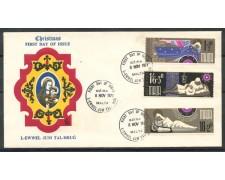 1971- MALTA - NATALE - BUSTA FDC - LOTTO/27747