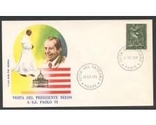 1970 - VATICANO - VISITA DEL PRESIDENTE NIXON - BUSTA FDC ROMA - LOTTO/27777