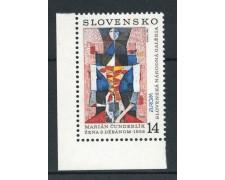 1993 - SLOVACCHIA - EUROPA ARTE - NUOVO - LOTTO/27859
