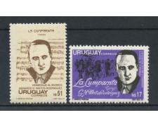 1988 - URUGUAY - MATOS RODRIGUEZ 2v. - NUOVI - LOTTO/27878