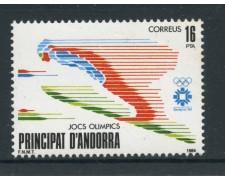 1984 - ANDORRA SPAGNOLA - OLIMPIADI SALTO - NUOVO - LOTTO/27891