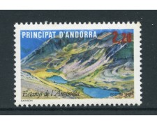 1986 - ANDORRA FRANCESE - LAGO AGONELLA - NUOVO - LOTTO/27893