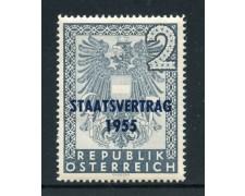 1955 - AUSTRIA - TRATTATO DI INDIPENDENZA - NUOVO - LOTTO/27898