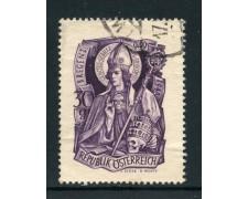 1949 - AUSTRIA - SAN GERARDO - USATO - LOTTO/27905U