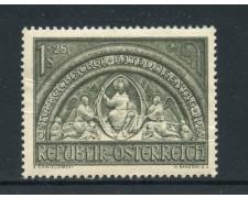 1952 - AUSTRIA - GIORNATA CATTOLICI AUSTRIACI - NUOVO - LOTTO/27908