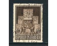1956 - AUSTRIA - AMMISSIONE ALL'ONU - USATO - LOTTO/27914