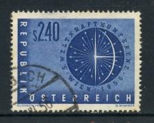 1956 - AUSTRIA - CONFERENZA DELL'ENERGIA - USATO - LOTTO/27915