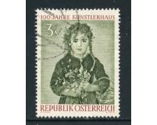 1961 - AUSTRIA - 3s. ARTISTI ROMAKO - USATO - LOTTO/27923