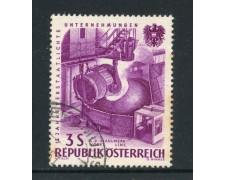 1961 - AUSTRIA - 3 s. ACCIAIERIE - USATO - LOTTO/27924