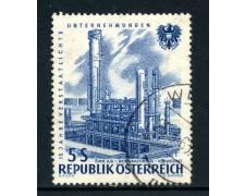 1961 - AUSTRIA - 5 s. RAFFINERIA - USATO - LOTTO/27925