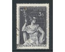 1961 - AUSTRIA - ASSOCIAZIONI BANCARIE - USATO - LOTTO/27926
