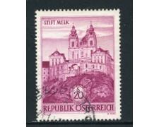 1963 - AUSTRIA - ABBAZIA DI MELK - USATO - LOTTO/27931