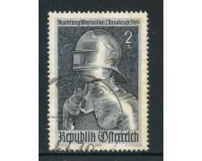 1969 - AUSTRIA - ESPOSIZIONE MASSIMILIANO I° - USATO - LOTTO/27945
