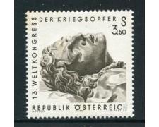 1970 - AUSTRIA - FEDERAZIONE COMBATTENTI - NUOVO - LOTTO/27957