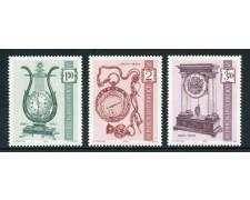 1970 - AUSTRIA - PENDOLE E OROLOGI 3v. - NUOVI - LOTTO/27962