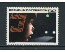 1971 - AUSTRIA - SICUREZZA DELLA STRADA - NUOVO - LOTTO/27967