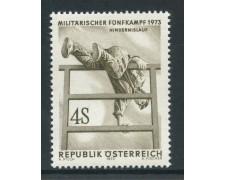 1973 - AUSTRIA - ATLETICA MILITARE - NUOVO - LOTTO/27985