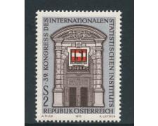 1973 - AUSTRIA - CONGRESSO DI STATISTICA - NUOVO - LOTTO/27986