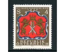 1973 - AUSTRIA - CONGRESSO IULCS - NUOVO - LOTTO/27987