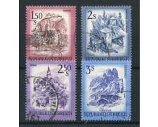 1974 - AUSTRIA - PAESAGGI 4v. - USATI - LOTTO/28002U