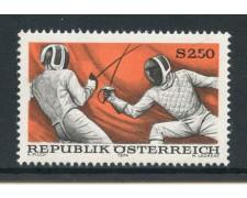 1974 - AUSTRIA - SPORT SCHERMA - NUOVO - LOTTO/28013