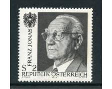 1974 - AUSTRIA -  FRANZ JONAS - NUOVO - LOTTO/28015