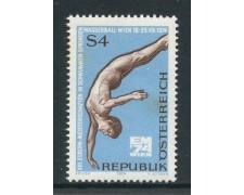 1974 - AUSTRIA - CAMPIONATI DI NUOTO - NUOVO - LOTTO/28018