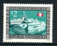 1974 - AUSTRIA - RADIOAUDIZIONI - NUOVO - LOTTO/28020
