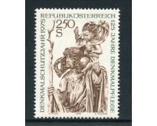 1975 - AUSTRIA - CONSERVAZIONE MONUMENTI - NUOVO - LOTTO/28028