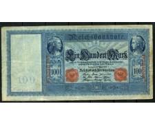 1909 - GERMANIA - 100 MARCHI - LOTTO/28135
