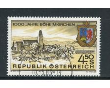 1985 - AUSTRIA - BOHEIMKIRCHEN - USATO - LOTTO/28348