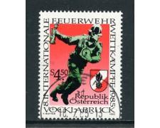 1985 - AUSTRIA - COMPETIZIONE DEI POMPIERI - USATO - LOTTO/28355