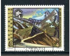 1985 - AUSTRIA - PASSO  DEL GROSSGLOCKNER - USATO - LOTTO/28356