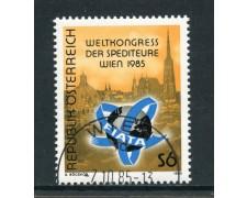 1985 - AUSTRIA - CONGRESSO FIATA SPEDIZIONIERI - USATO - LOTTO/28357