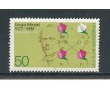 1984 - GERMANIA - GREGOR MENDEL - NUOVO - LOTTO/28365