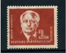 1950 - GERMANIA DEMOCRATICA - 2 Dm. PRESIDENTE PIECK - NUOVO - LOTTO/28373