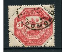 1898 - TESSALIA (GRECIA) - 20 PARAS - USATO - LOTTO/28415