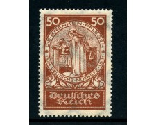 1924 - GERMANIA REICH - 50+1,50 M. BENEFICIENZA - LING.- LOTTO/28422