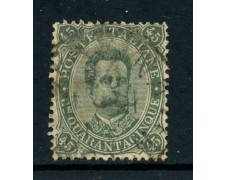 1889 - REGNO - 45c. UMBERTO I° - USATO - LOTTO/28431