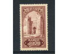 1917 - MAROCCO FRANCESE - 20c. PORTA DI CHELLA - NUOVO - LOTTO/28439