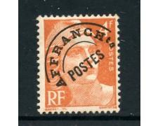 1922/51 - FRANCIA - 4 FRANCHI ARANCIO PREANNULLATO - NUOVO - LOTTO/28453
