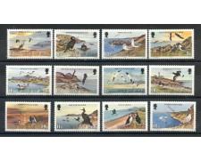 1983 - ISOLA DI MAN - UCCELLI MARINI 12v. - NUOVI - LOTTO/28468