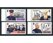 1983 - ISOLA DI MAN - ESERCITO DELLA SALVEZZA 4v. - NUOVI - LOTTO/28469