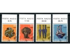 1975 - SVIZZERA - PRO PATRIA ARCHEOLOGIA - USATI - LOTTO/28478