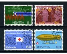 1975 - SVIZZERA - PROPAGANDA 4v. - USATI - LOTTO/28480