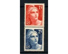 1949 - FRANCIA - 15/25c. CENTENARIO FRANCOBOLLO - NUOVI - LOTTO/28506