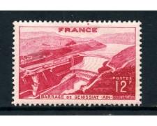 1948 - FRANCIA - DIGA DI GENISSIAT - LINGUELLATO - LOTTO/28507